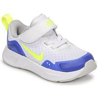 Boty Děti Multifunkční sportovní obuv Nike NIKE WEARALLDAY Bílá / Modrá / Zelená
