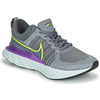 Boty Muži Běžecké / Krosové boty Nike NIKE REACT INFINITY RUN FLYKNIT 2 Šedá