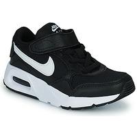 Boty Děti Nízké tenisky Nike NIKE AIR MAX SC (PSV) Černá / Bílá