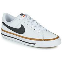 Boty Děti Nízké tenisky Nike NIKE COURT LEGACY Bílá / Černá