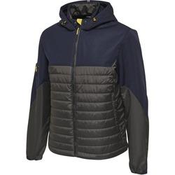 Textil Muži Prošívané bundy Hummel Veste  North Hybrid bleu marine
