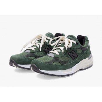 Boty Nízké tenisky New Balance JJJJound x New Balence 992 Green Green - Grey