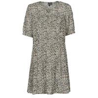 Textil Ženy Krátké šaty Vero Moda VMELIN Béžová