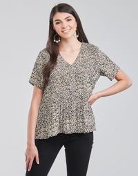 Textil Ženy Halenky / Blůzy Vero Moda VMELIN Béžová