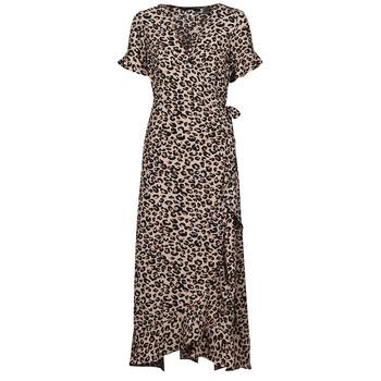 Textil Ženy Společenské šaty Vero Moda VMSAGA Béžová
