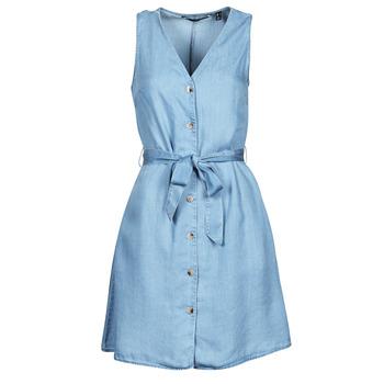 Textil Ženy Krátké šaty Vero Moda VMVIVIANA Modrá / Světlá