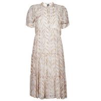 Textil Ženy Společenské šaty Vero Moda VMKATHRINE Béžová