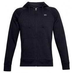 Textil Muži Mikiny Under Armour Rival Fleece FZ Hoodie černá