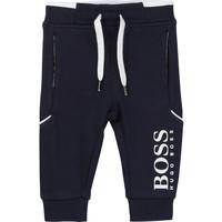 Textil Chlapecké Teplákové kalhoty BOSS NOLITA Tmavě modrá