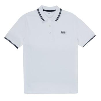 Textil Chlapecké Polo s krátkými rukávy BOSS TONNELA Bílá