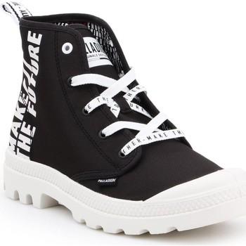 Boty Kotníkové tenisky Palladium Manufacture Pampa HI Future 76885-002-M white, black