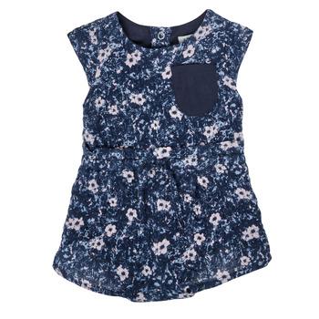 Textil Dívčí Overaly / Kalhoty s laclem Ikks XS33010-48 Tmavě modrá