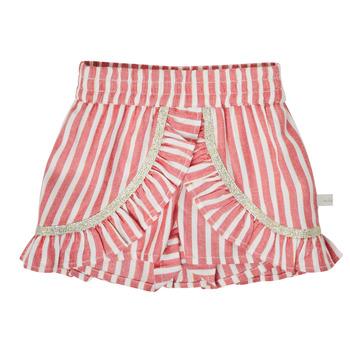 Textil Dívčí Kraťasy / Bermudy Ikks XS26000-35 Červená