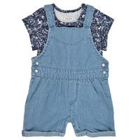 Textil Dívčí Overaly / Kalhoty s laclem Ikks XS37010-84 Modrá