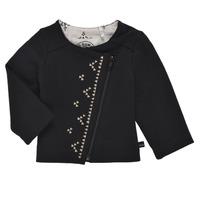 Textil Dívčí Svetry / Svetry se zapínáním Ikks XS17020-02 Černá