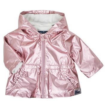 Textil Dívčí Parky Ikks XS42010-31 Růžová