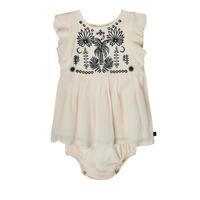 Textil Dívčí Krátké šaty Ikks XS30060-11 Bílá