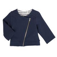Textil Dívčí Svetry / Svetry se zapínáním Ikks XS17030-48 Tmavě modrá