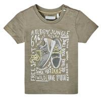 Textil Chlapecké Trička s krátkým rukávem Ikks XS10141-57 Khaki