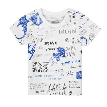 Textil Chlapecké Trička s krátkým rukávem Ikks XS10021-19