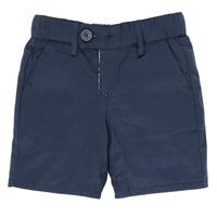 Textil Chlapecké Kraťasy / Bermudy Ikks XS25021-45 Tmavě modrá