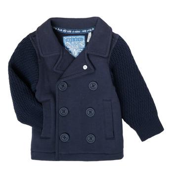Textil Chlapecké Svetry / Svetry se zapínáním Ikks XS17001-48 Tmavě modrá