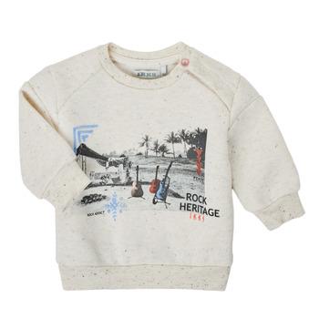 Textil Chlapecké Mikiny Ikks XS15011-60 Bílá