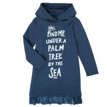 Textil Dívčí Krátké šaty Ikks XS30092-48-C Tmavě modrá