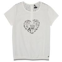 Textil Dívčí Trička s krátkým rukávem Ikks XS10242-19-J Bílá