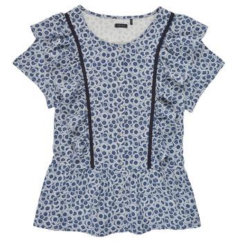 Textil Dívčí Halenky / Blůzy Ikks XS12052-48-J Modrá