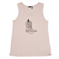 Textil Dívčí Tílka / Trička bez rukávů  Ikks XS10302-31-C Růžová