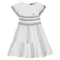 Textil Dívčí Krátké šaty Ikks XS30012-11-J Bílá