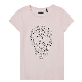 Textil Dívčí Trička s krátkým rukávem Ikks XS10492-31-J Růžová