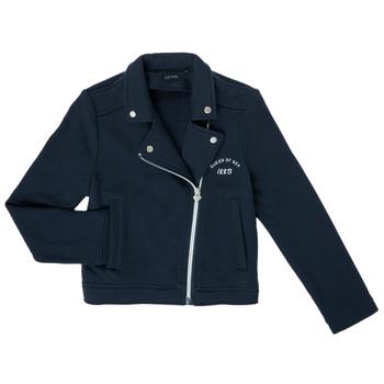 Textil Dívčí Svetry / Svetry se zapínáním Ikks XS17072-48-C Tmavě modrá