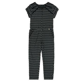 Textil Dívčí Overaly / Kalhoty s laclem Ikks XS32012-02-C Černá