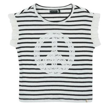 Textil Dívčí Trička s krátkým rukávem Ikks XS10022-19-C