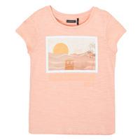 Textil Dívčí Trička s krátkým rukávem Ikks XS10332-32-C Růžová