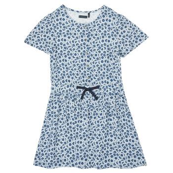 Textil Dívčí Krátké šaty Ikks XS30102-48-C Modrá