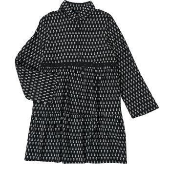 Textil Dívčí Krátké šaty Ikks XS30002-02-C Černá