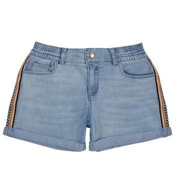 Textil Dívčí Kraťasy / Bermudy Ikks XS26002-84-C Modrá
