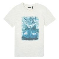 Textil Chlapecké Trička s krátkým rukávem Ikks XS10183-22-C Bílá