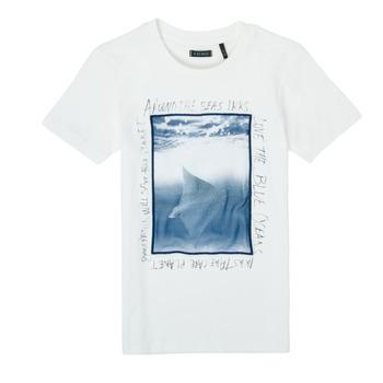 Textil Chlapecké Trička s krátkým rukávem Ikks XS10033-19-C Bílá