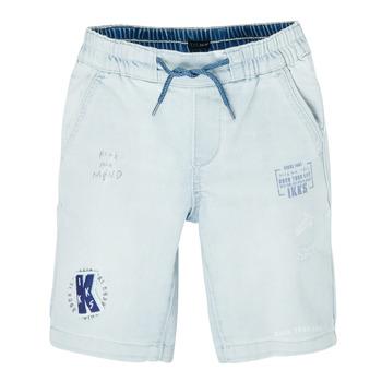 Textil Chlapecké Kraťasy / Bermudy Ikks XS25223-82-C Modrá