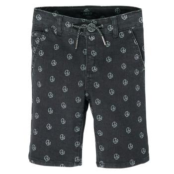 Textil Chlapecké Kraťasy / Bermudy Ikks XS25063-02-C Černá