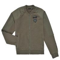 Textil Chlapecké Mikiny Ikks XS17043-57-C Khaki