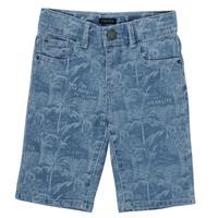 Textil Chlapecké Kraťasy / Bermudy Ikks XS25253-82-C Modrá