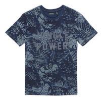 Textil Chlapecké Trička s krátkým rukávem Ikks XS10153-46-C Tmavě modrá