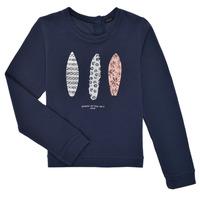 Textil Dívčí Mikiny Ikks XS15012-48-J Tmavě modrá