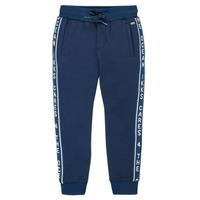 Textil Chlapecké Teplákové kalhoty Ikks XS23003-48-J Tmavě modrá