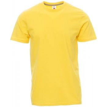 Textil Muži Trička s krátkým rukávem Payper Wear T-shirt Payper Sunset jaune